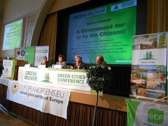 HelsinkiGreenCitiesKonferenz25sept2015_PanelWithJonckheerGardfjellBoutaultGoma