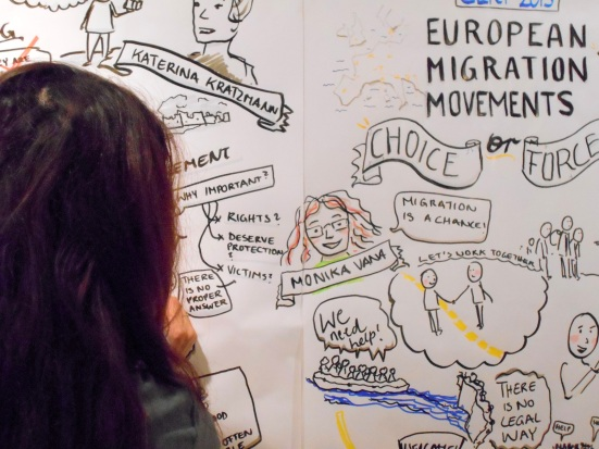 11CERT22oktober2015_09_EuropeanMigrationMovements_GraphicRecordingZeichnung